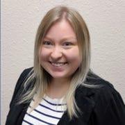 Cassandra Arndt, student speaker at LTC's 2020 spring graduation.