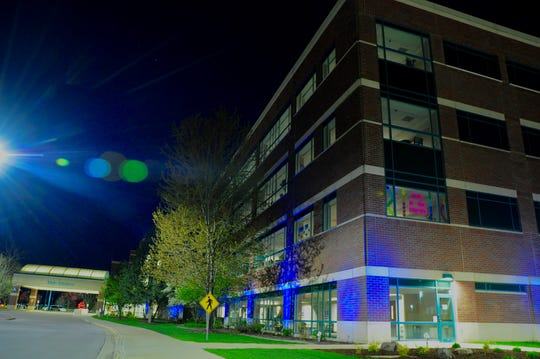 Aurora Medical Center in Manitowoc County has joined all Advocate Aurora Health hospitals in lighting up blue at 8 p.m.to honor those lost and to express gratitude for all health care workers amid the coronavirus pandemic. The lightings will continue through June 1.