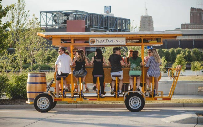 A pedal tavern will be coming to Oconomowoc in June.