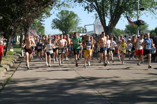 During Colby Cheese Days, an annual run is held to honor Lt. Jamison Kampmeyer, who was killed in the line of duty as a member of the Colby Fire Department.