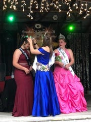 One event during June Dairy Days in GIlman is the crowning of Miss Gilman. The 2020 festival has been canceled over coronavirus concerns.