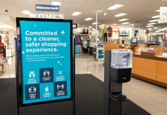 Kohl's has made significant enhancements to the store environment and operations to provide a safe and healthy environment for everyone.