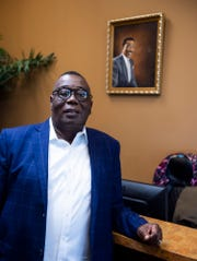 Dr. Alfred Seawright poses for a portrait in his office at Medical Place in Montgomery, Ala., on Thursday, May 21, 2020.