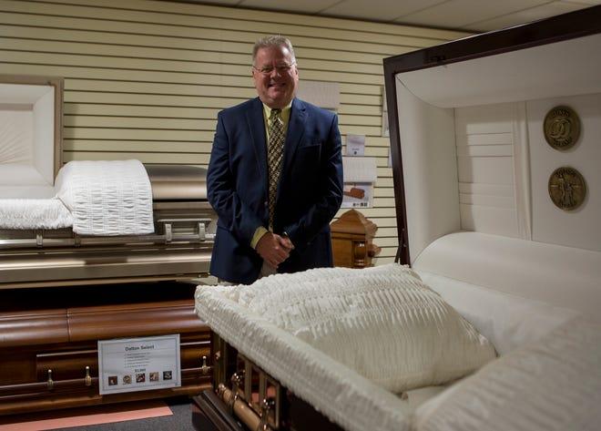 Rick Hoskinson of Hoskinson Funeral Homes in Kirkersville.