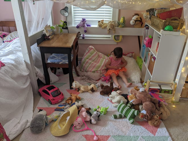 Abbey offers a service to create messes in people's homes that might be a bit too organized.