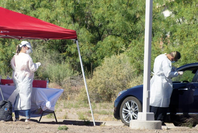 Luna County officials tested the entire Luna County Detention Center population for COVID-19 and also held a test-n-go drive through event last Saturday at the Mimbres Valley Learning Center parking lot.