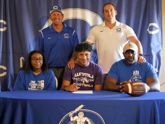 Carlsbad's Xavier Ingram commits to play collegiate football at Western New Mexico University on May 20, 2020.