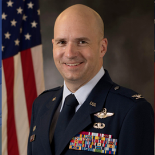 "Col. Ryan ""Trax"" Keeney"