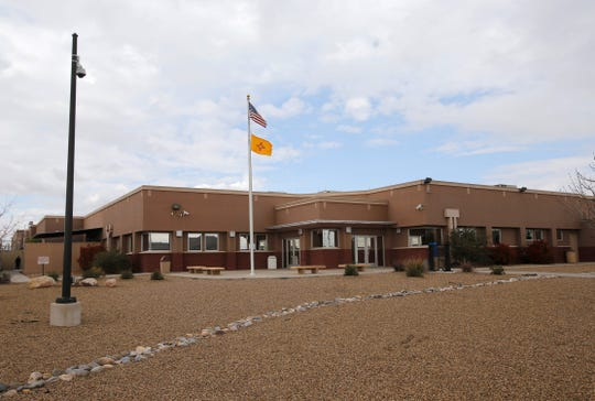 The San Juan County Adult Detention Center in Farmington.