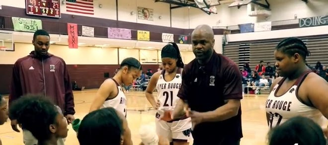 Ant-Juan Simpkins turned the River Rouge girls basketball program around in one season.