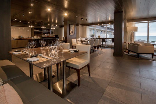 Shown on Wednesday, May 20, 2020, Bonsai opened recently on the second floor of the Hilton Pensacola Beach.