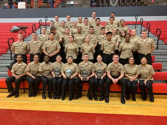 """In what has already been a banner year for the Chambersburg Area Senior High School Navy Junior ROTC Program, the Chambersburg Cadets can add an additional accomplishment – first ever designation as a """"Distinguished Unit"""" by Naval Service Training Command."""
