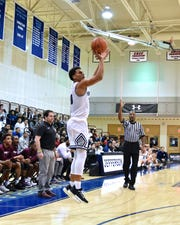 Though basketball is his third sport, Lonnie White Jr. still starred for Malvern Prep. He is known particularly as a standout shooter and dunker.