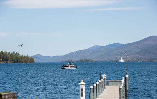 Boaters enjoy clear skies on Thursday, May 14, 2020, on Lake George. Normally, sources said, Lake George would be much busier already at this time of year, and now hotels, businesses and year-round residents in summer destinations like Lake George are preparing to safely and slowly reopen as the summer season approaches.