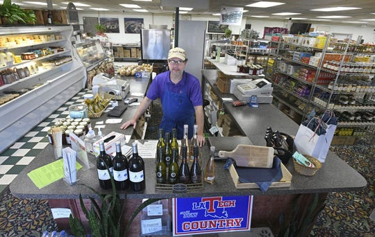 Ross Barclay of Maxwell's Market has seen his store have success in developing new customers during the pandemic.