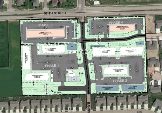 Lloyd Cos. has plans for a four-phase, 10-building development with office and apartments at 57th Street and Bahnson Avenue.