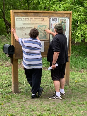 Pat and Mike Bender made the day trip to the Big Sioux Recreation Area in Brandon from Beaver Creek, Minnesota on Wednesday, May 20.