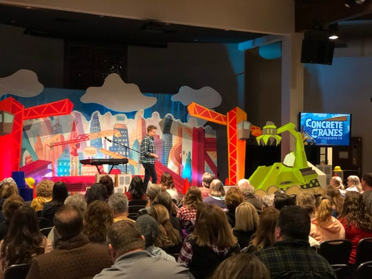 A Worship Rally set from earlier this year at a Vacation BIble School training event the Florida Baptist Convention hosted in Panama City. The leader on stage is John Paul Linton from Seminole Baptist Church, who is a member of the VBS TLH Leadership team.