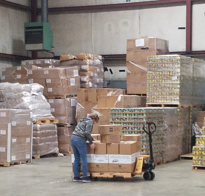 The Southern Regional Food Distribution Center has moved more than 1,072,000 pounds of food in March and April to support food pantries, soup kitchens and homeless shelters in Atlantic, Cumberland, Camden, Cape May, Gloucester, Mercer, Monmouth and Salem counties.