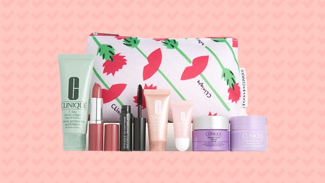 You can get this goodie bag of Clinique freebies at Nordstrom.