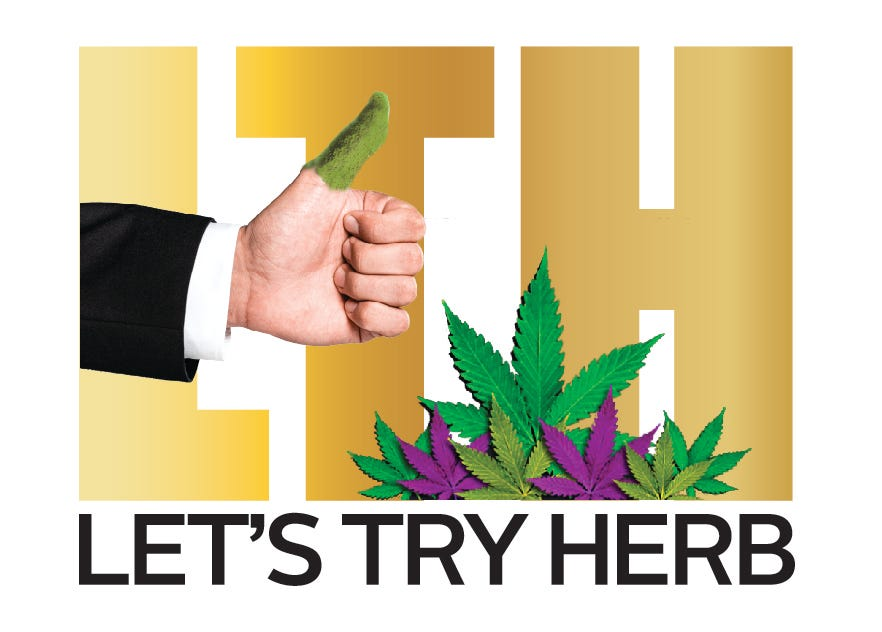 Let's Try Herb Logo
