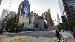 """NEW YORK, NEW YORK - MAY 14: Artwork titled """"Now & Forever"""" by Tristan Eaton created exclusively for Montefiore and Alto New York's 2020 """"Heroes"""" campaign on May 14, 2020 in New York City. (Photo by Noam Galai/Getty Images for Montefiore Einstein) ORG XMIT: 775512470 ORIG FILE ID: 1214246292"""