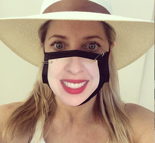Tiffany Shlain in Mill Valley, California, in April 2020.