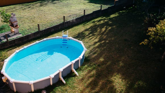 A backyard pool is a lot easier to achieve with an above-ground version.
