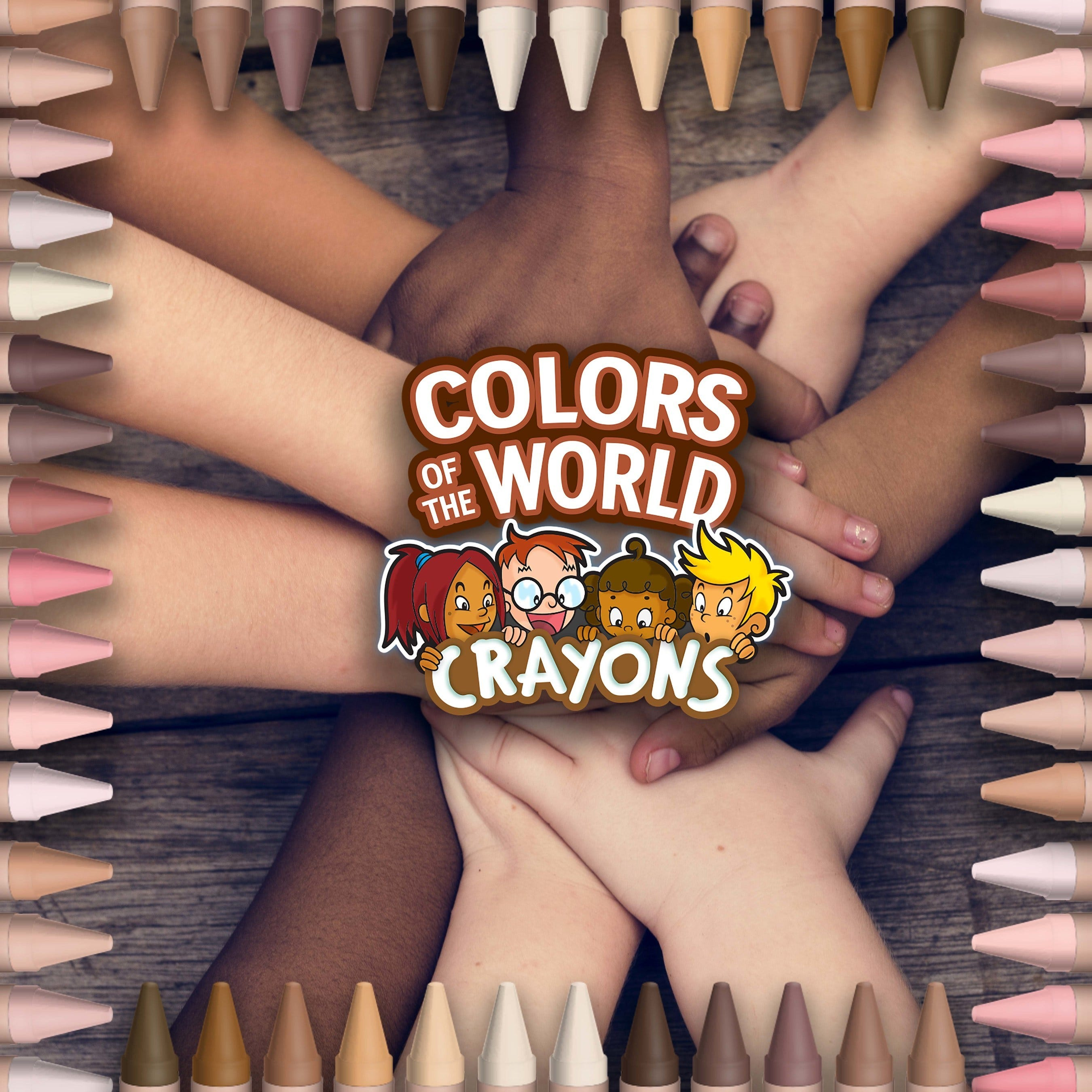 Crayola launches different skin tones crayons to foster representation