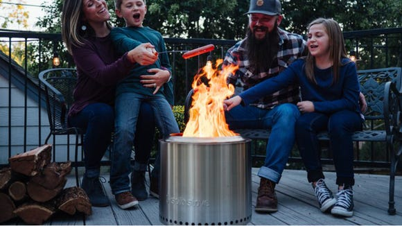 Every backyard hangout could use a fire pit.