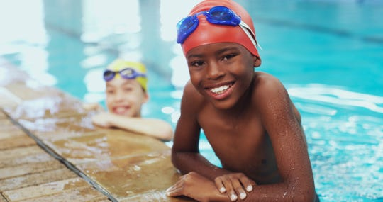 The CDC recommends that swimmers not share any gear that touches the face, such as goggles or snorkels.