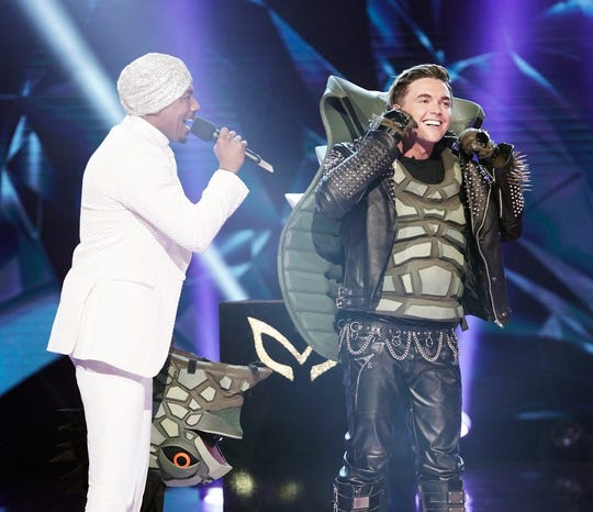 TAKING SECOND PLACE, May 20: Jesse McCartney was Turtle.