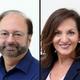 Executive Editor Paul D'Ambrosio and Regional VP, Sales Karen Guarasi