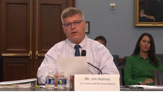 Jim Holmes, of Suntree, testified before a House subcommittee on March 11, urging Congress to help create a pilot program to help buy filters for communities near Patrick Air Force Base. Holmes' daughter, Kaela, died three days after her 17th birthday. Her doctor says that fluorinated compounds in the area of the base could have caused her cancer.