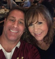 Eric Daniels and his wife, Denise.