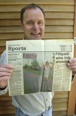 Shelburne's Joe Kreutz was the 1989 men's winner at the inaugural Vermont City Marathon.