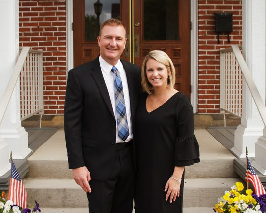 Matt and Valerie Miller run Miller Funeral Home in Coshocton. Matt grew up in Dresden, and after managing two other funeral homes, started his own in 2009.