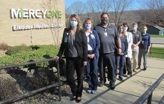 Medical staff leaders at MercyOne Elkader Medical Center in Elkader.