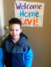 Levi Nobles, 7, of Shelby Township was among the Michigan children hospitalized with the newly identified disease associated with novel coronavirus. Called Multisystem Inflammatory Syndrome, it's sickened hundreds of kids nationally and can be deadly.  Levi is now continuing to recover at home.