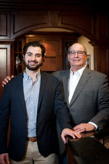 Anthony Bosco, left, is a project manager and the son of Don Bosco, the founder of Bosco Building Inc., a custom home builder in West Bloomfield, Mich. The built the Bloomfield Hills home of Lions quarterback Matthew Stafford.