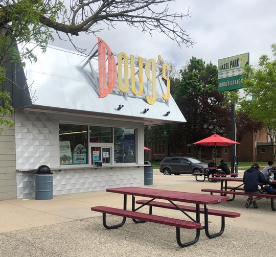 Doug's Delight ice cream stand in Hazel Park is home to Matt & Mo's Italian Beef.