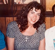 Tara Reade out with friends in Washington, in 1992 or 1993, during the time she worked for then- Sen. Joe Biden, D-Del.