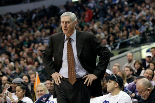 Jerry Sloan took the Utah Jazz to the NBA Finals in 1997 and 1998 on his way to a spot in the Basketball Hall of Fame.