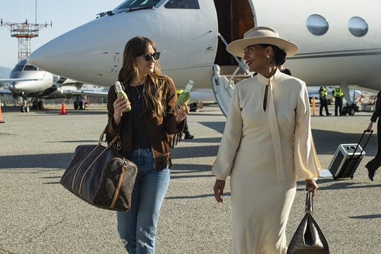 """Dakota Johnson and Tracee Ellis Ross in """"The High Note."""""""