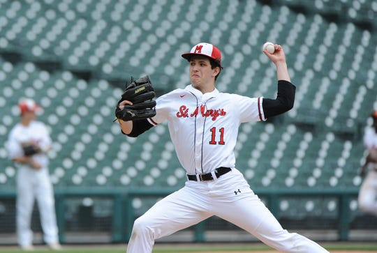 Orchard Lake St. Mary's pitcher Logan Wood will play at Michigan next season.