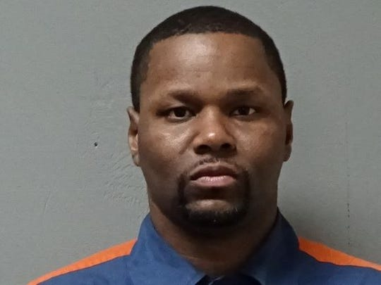 A mugshot of Robert Hinds, who was sentenced to life in prison in 2002 and now resides at the Chippewa Correctional Facility in the Upper Peninsula. Hinds, 36, says he's fighting two battles: to be released before a possible outbreak of COVID-19 in the Upper Peninsula prison, and to be exonerated for a crime he claims he didn't commit.
