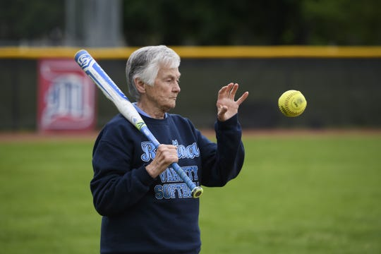Warren Regina's Diane Laffey is one of the most successful softball coaches in MHSAA history.