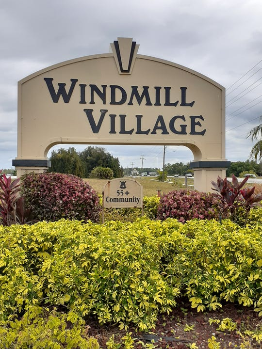 County Commissioners have approved a zoning change for the Windmill Village mobile home park in North Fort Myers that will mean a 1.5-acre storage area, called unsightly by the county hearing examiner, will be screened from view by residents of a neighboring park with fencing and a shrubbery and tree buffer zone.