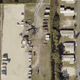A storage area in the Windmill Village manufactured home community in North Fort Myers is visible  to residents of another park. County commissioners have approved a zoning change to allow the propety  to be surrounded by fencing and a buffer zone of shrubbery.