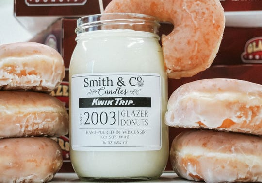 Smith & Co. Candles is partnering with Kwik Trip to sell Glazer-scented candles online.